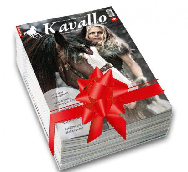 Kavallo-Geschenkabonnement, zahle 11 - verschenke 14!