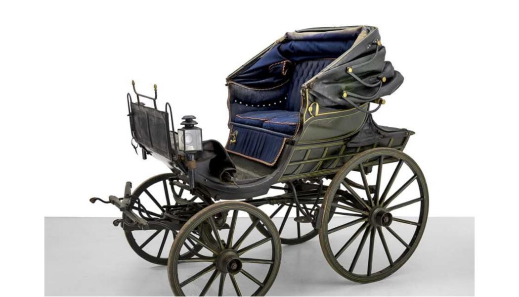 Berner Gotthelf Wagen (Rarität aus der Zeit um 1830)