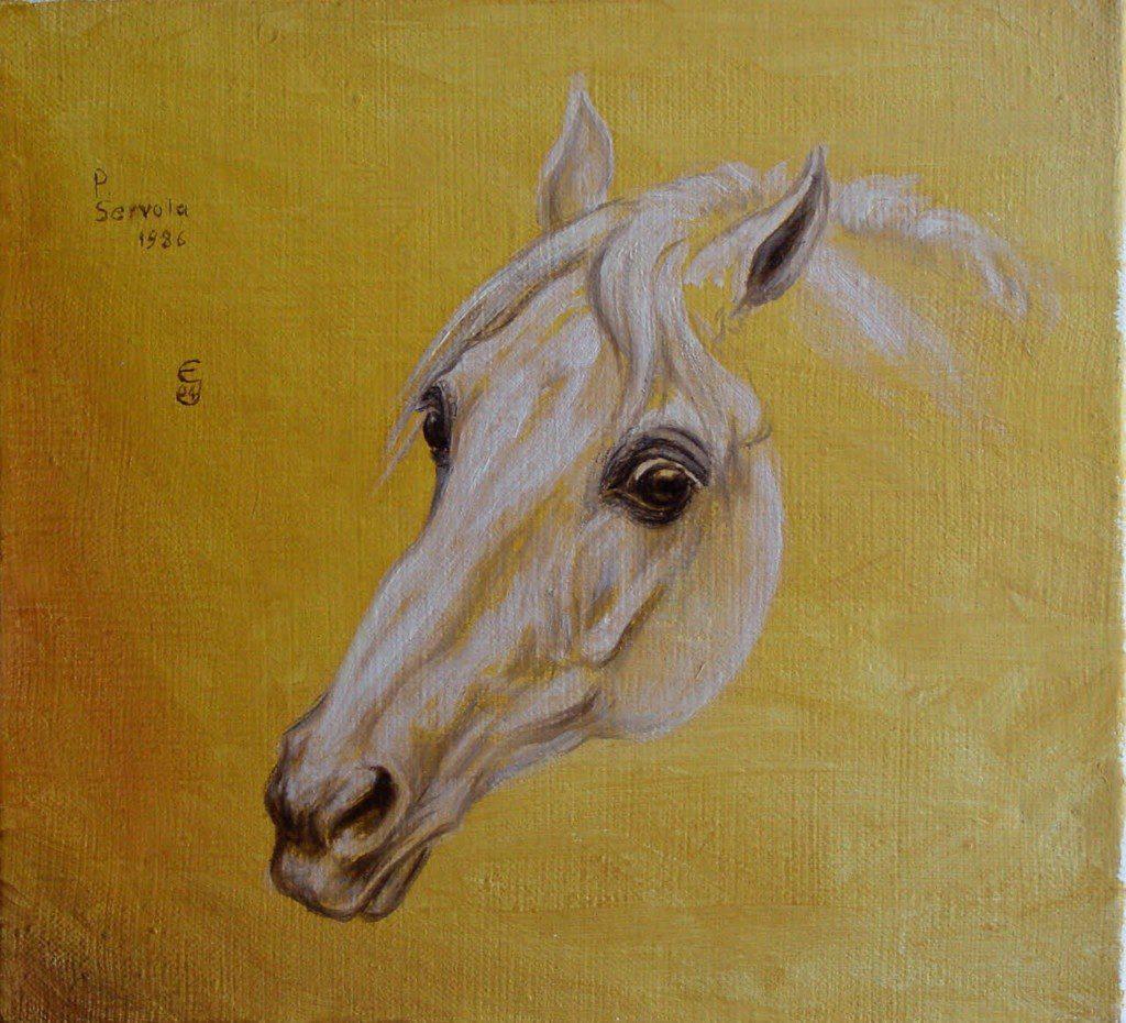 Ausstellung Pferdemalerin Eva Jaeckle