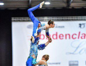 Voltige Lütisburg übernimmt die Führung in der Hilzinger Kür-Trophy der Voltigierer