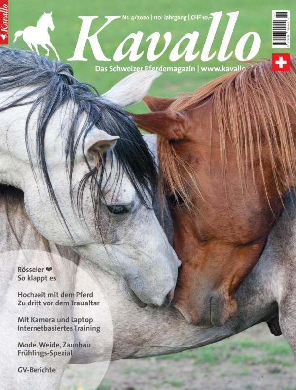 Kavallo-Magazin, Ausgabe April 2020