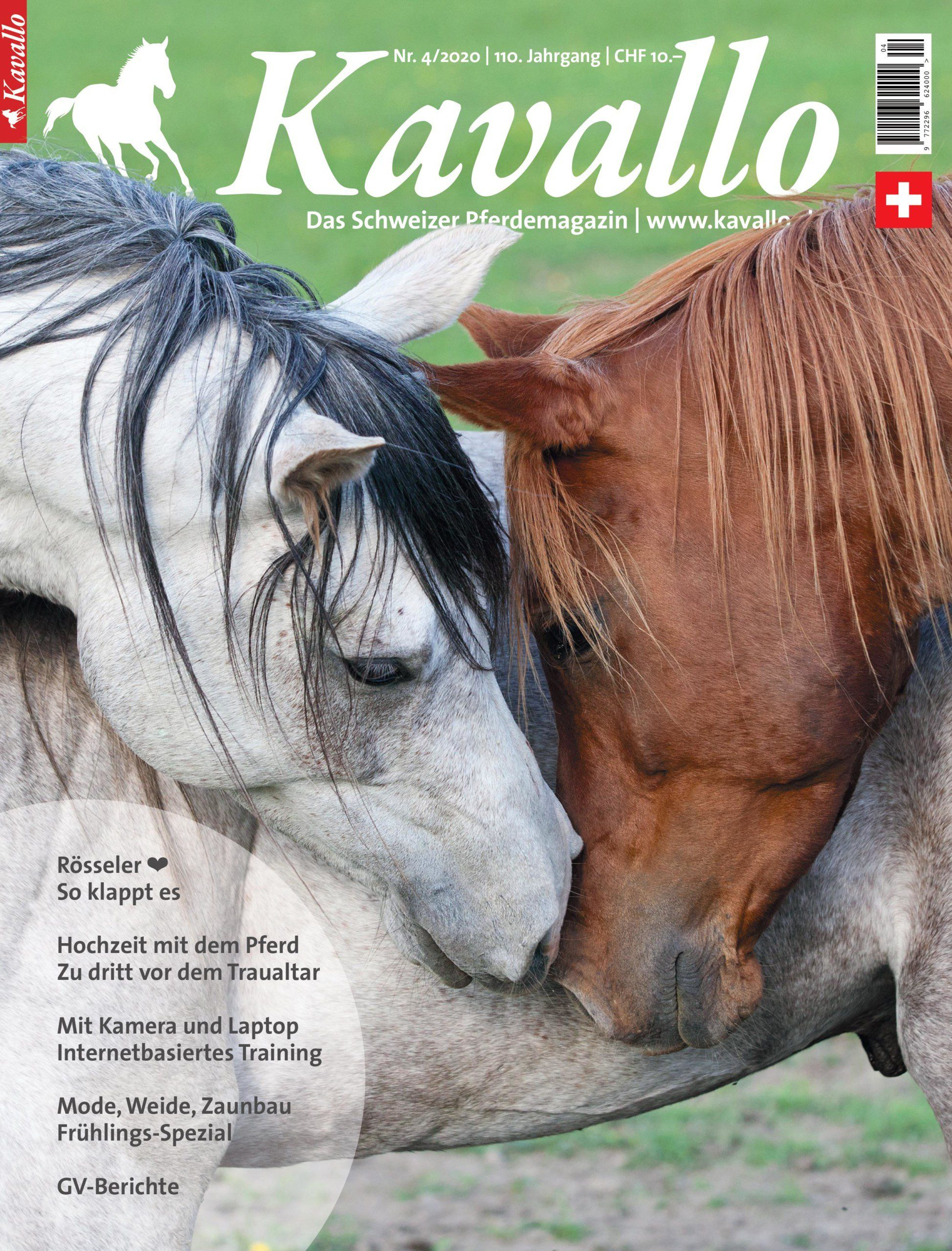 Kavallo-Magazin, Ausgabe April 2020
