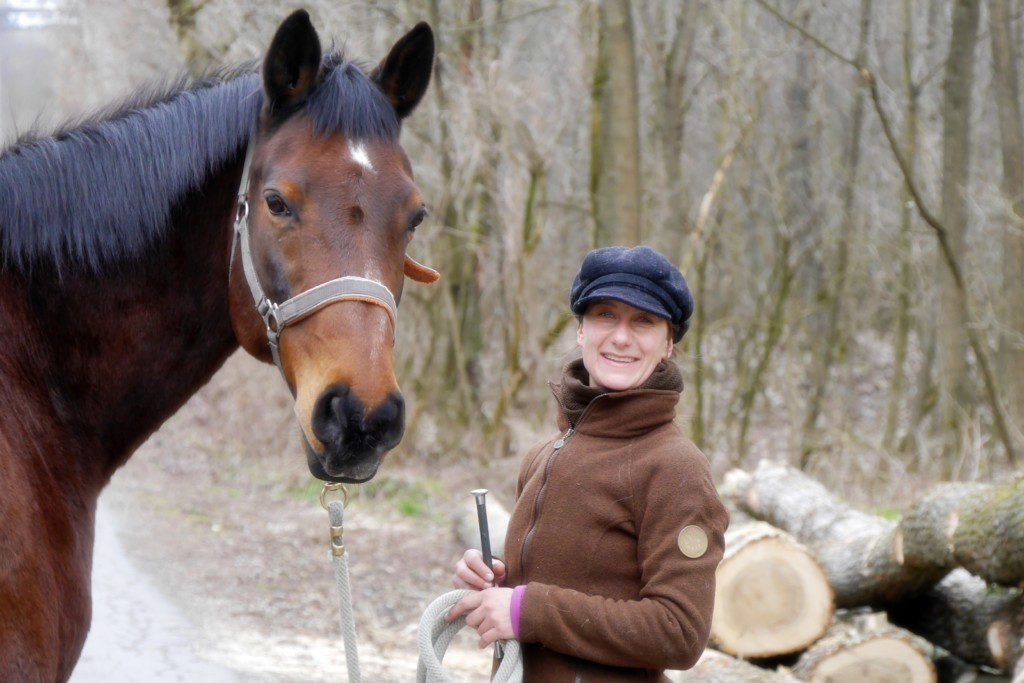 Susanne Jerkovits und Chardonnet