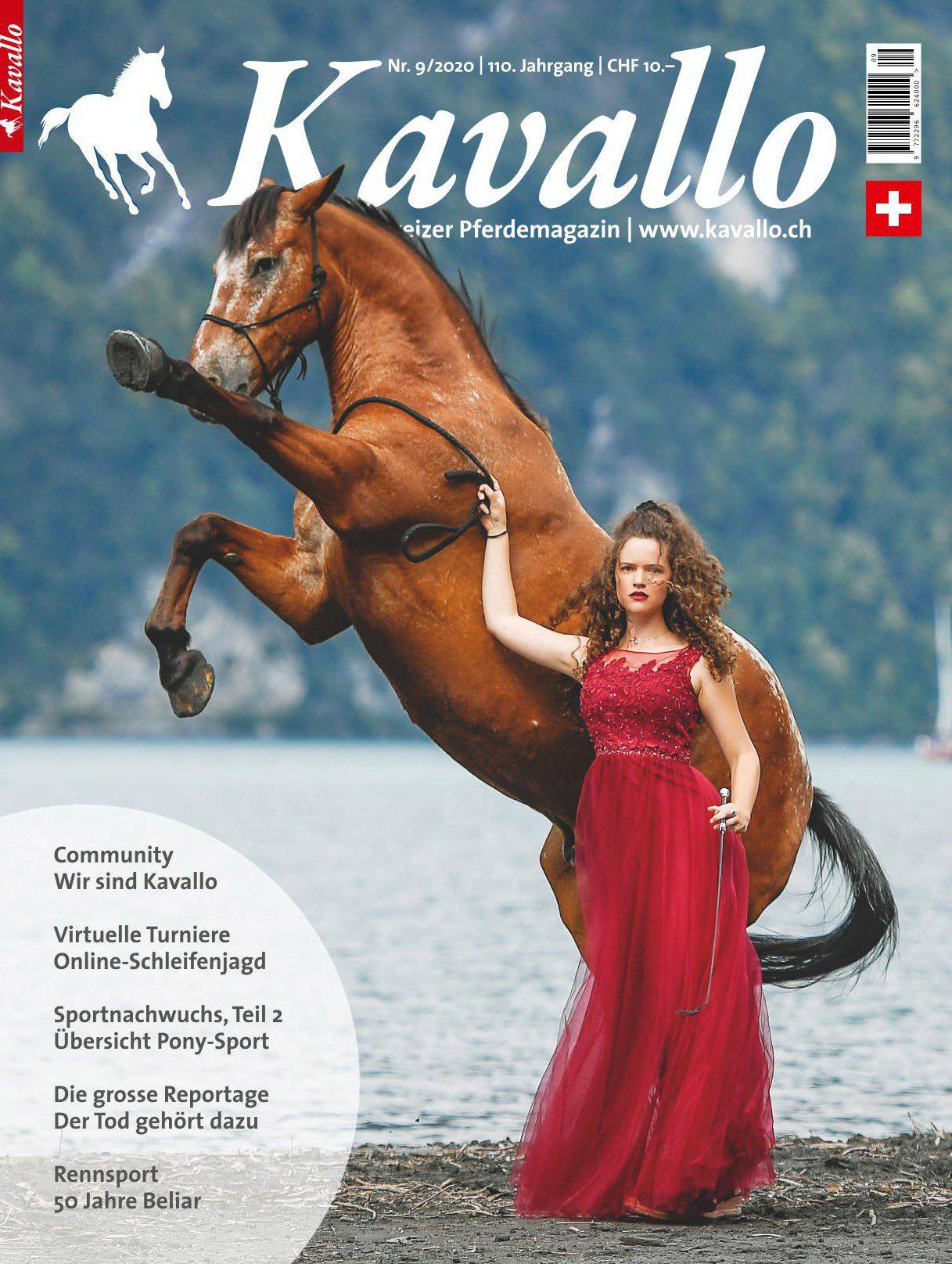 Einzelheft kaufen: Kavallo-Ausgabe September 2020 - Die Community