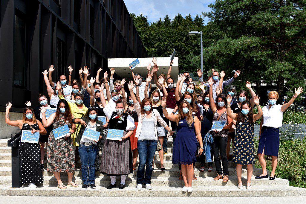 Die erfolgreichen Absolventinnen und Absolventen des Lehrgangs Equigarde® 2020