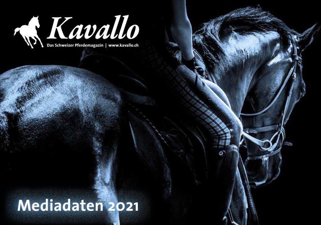 Kavallo, Pferdemagazin, Mediadaten