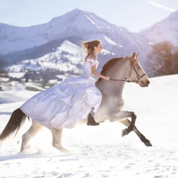 Weisses Winterwunder