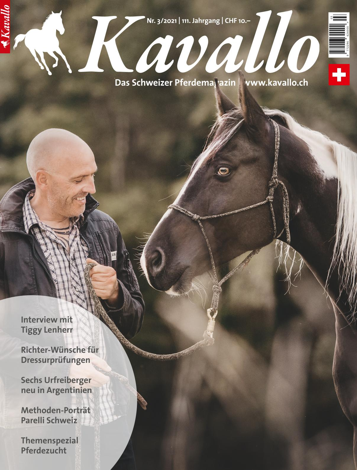 News aus der Schweiz zu Pferdesport und Reiten - Kavallo-Pferdemagazin