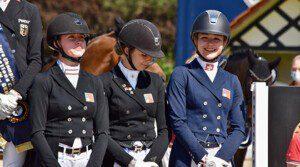 Die Juniorinnen Renée Stadler, Tallulah Lynn Nater und Meilin Ngovan (v.l.n.r) sind für die Junioren-EM selektioniert | © Simone Graf