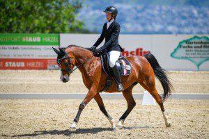 Doppelsiegerin GA0940 und L1340 Anais Livia Stein und Euphoria EH. (Bild: Anna Stuppia)